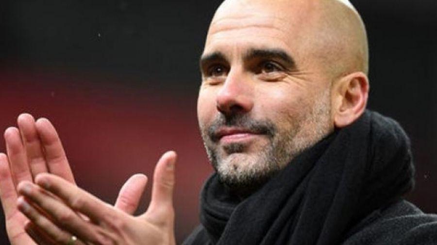 HLV Guardiola 'vui như Tết' sau khi Man City vượt qua Liverpool
