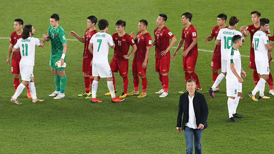 ĐT Việt Nam tụt hạng FIFA sau trận thua Iraq