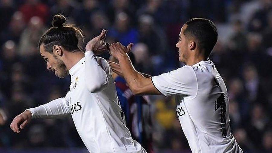 Real Madrid thắng Levante nhờ 2 quả penalty gây tranh cãi