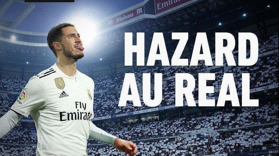 NÓNG: Hazard sang Real Madrid sau chung kết Europa League