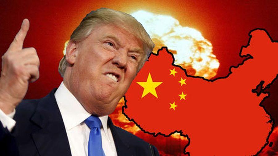Kết quả hình ảnh cho Trung Quốc tuyên bố trả đũa ông Trump: Nước Mỹ 'đỏ lửa'